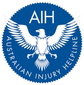 Accident injury compensation helpline logo